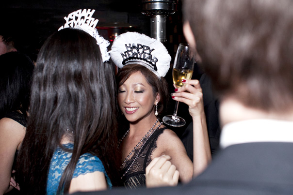 50 shades of grey style Privy's New Years Rockin'eve 2014