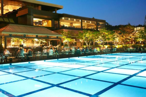 grand hyatt seoul pool side