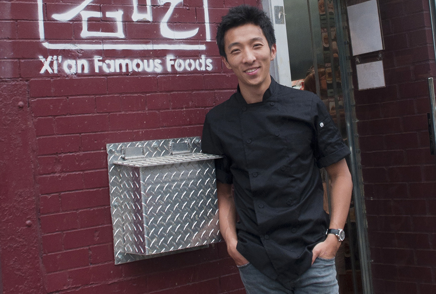 Jason Wang Ceo and President of Xi'an Famous Foods