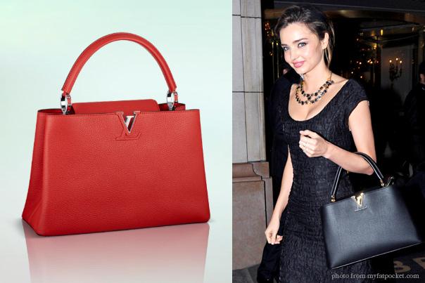 Louis Vuitton Capucines Bag, $5,350