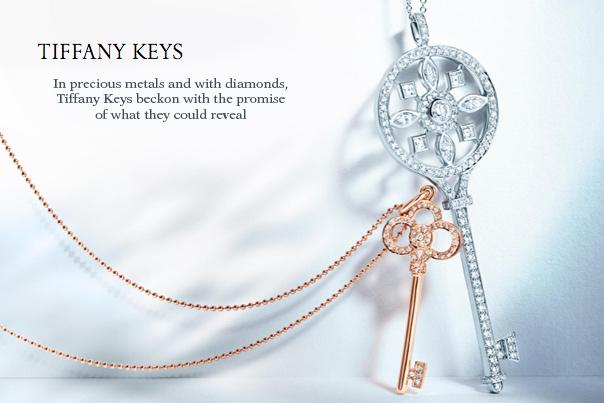 Tiffany Fleur de Lis Key Pendant $3,800